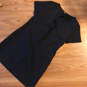 Nasty gal front tie dress size medium